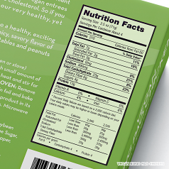 Vegan Kung Pao Chicken Nutrition Facts