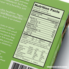 Vegan Black Pepper Steaks Nutrition Facts