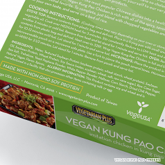 Vegan Kung Pao Chicken Ingredients