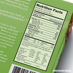 Vegan Ginger Chicken Nutrition Facts