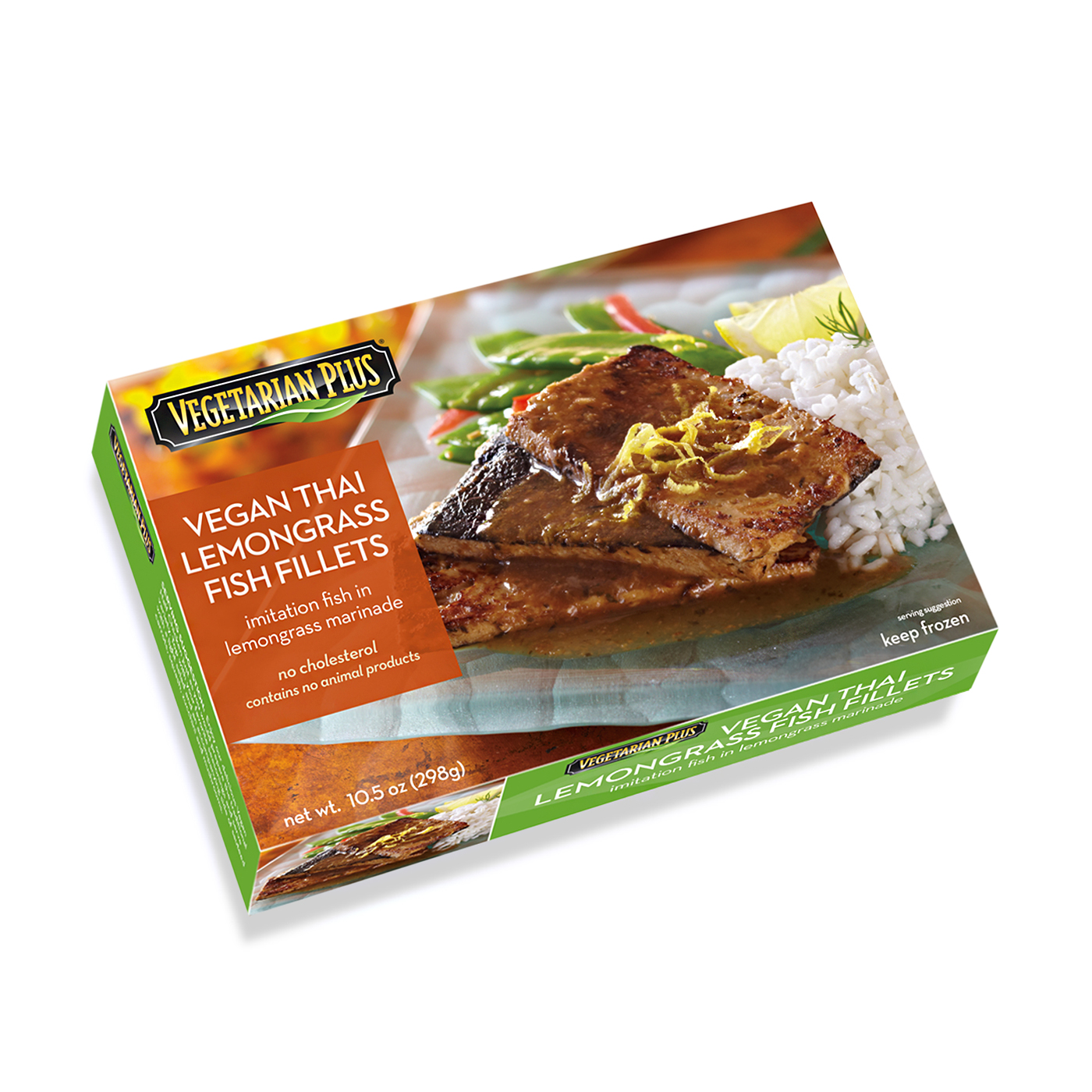 Vegan Thai Lemongrass Fish Fillets Box