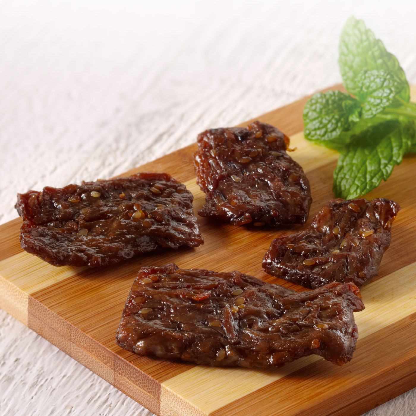 Sweet Teriyaki Vegan Jerky (Pack of 8)
