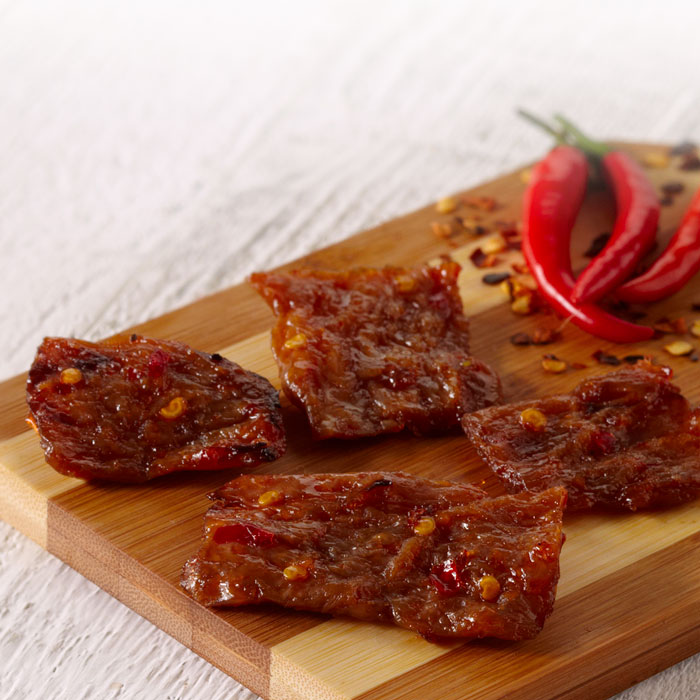 Spicy Sriracha Vegan Jerky (Pack of 8)